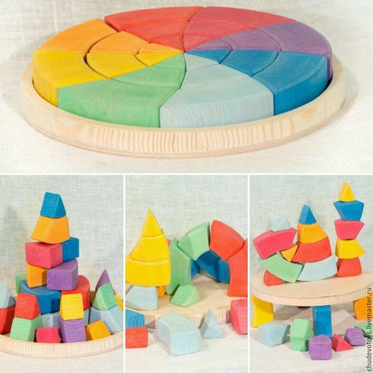 Развивающие игрушки ручной работы. Ярмарка Мастеров - ручная работа. Купить Круг Гёте. Handmade. Круг, чудо-дерево, игрушки