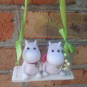 Куклы и игрушки ручной работы. Ярмарка Мастеров - ручная работа Муми-тролль и Фрекен Снорк. Handmade.