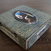 Для дома и интерьера ручной работы. Ярмарка Мастеров - ручная работа Сундук-альбом для фотографий. Handmade.