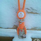 Куклы и игрушки ручной работы. Ярмарка Мастеров - ручная работа заяц Филька. Handmade.