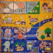 Куклы и игрушки ручной работы. Ярмарка Мастеров - ручная работа Развивающий коврик-пазл. Handmade.