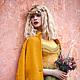 """Платья ручной работы. Заказать Платье """"Осень"""". Aleksandra Gapanovich. Ярмарка Мастеров. Платье, дизайнерская одежда"""