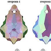 Кристаллы ручной работы. Ярмарка Мастеров - ручная работа Swarovski 6090  22х15мм Crystal Paradise Shine. Handmade.