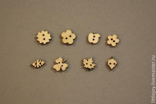 Другие виды рукоделия ручной работы. Ярмарка Мастеров - ручная работа. Купить 17 видов Пуговицы из дерева. Декоративные элементы. №1. Handmade.