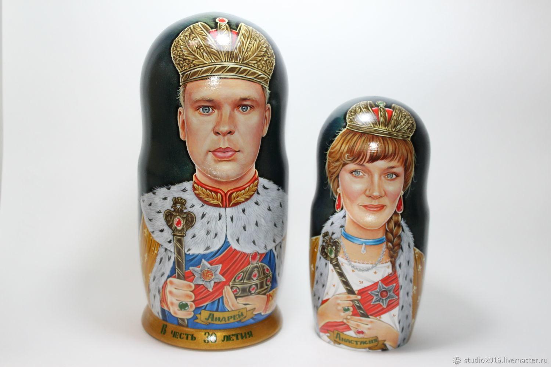Царь, Матрешки, Москва,  Фото №1