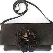 Сумки и аксессуары handmade. Livemaster - original item The clutch suedette