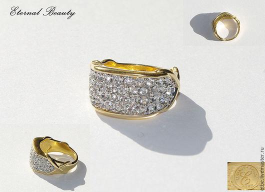 Кольца ручной работы. Ярмарка Мастеров - ручная работа. Купить Кольцо от Elizabeth Taylor 18 размер. Handmade. Золотой, кольцо