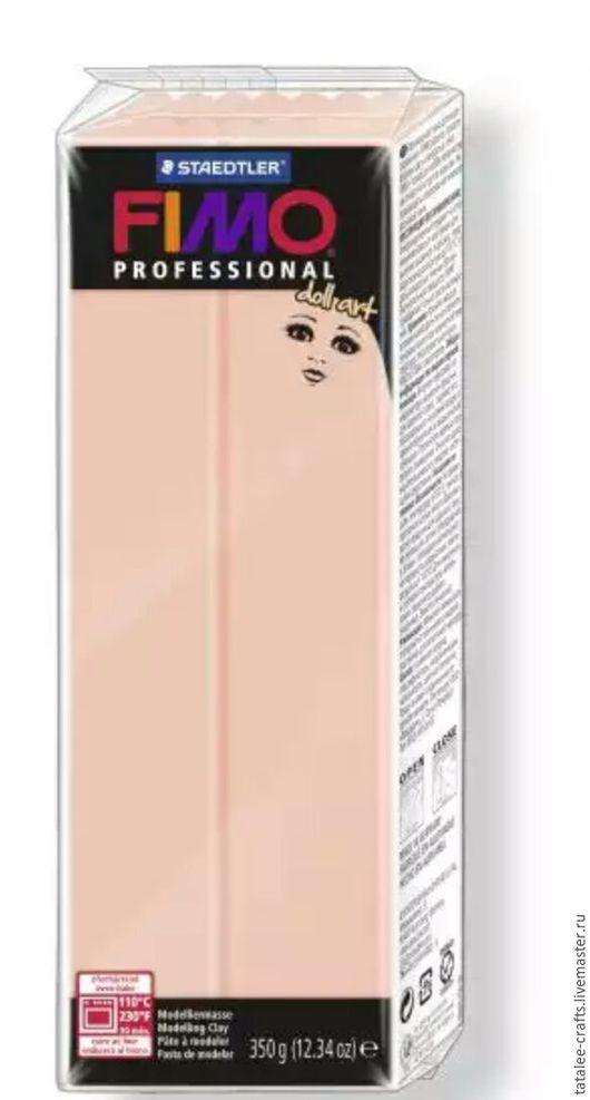 Для украшений ручной работы. Ярмарка Мастеров - ручная работа. Купить 8028-432 - Розовый полупрозрачный - Fimo Professional Doll Art. Handmade.