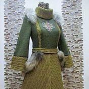 """Одежда ручной работы. Ярмарка Мастеров - ручная работа Авторское платье """"Хозяйка тайги"""". Handmade."""