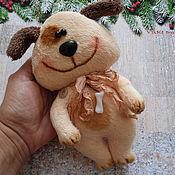 Подарки к праздникам ручной работы. Ярмарка Мастеров - ручная работа Собака-улыбака. Handmade.