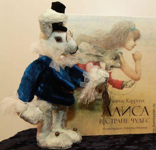 Сказочные персонажи ручной работы. Ярмарка Мастеров - ручная работа. Купить Кролик по мотивам  Алисы в стране чудес (продано). Handmade.