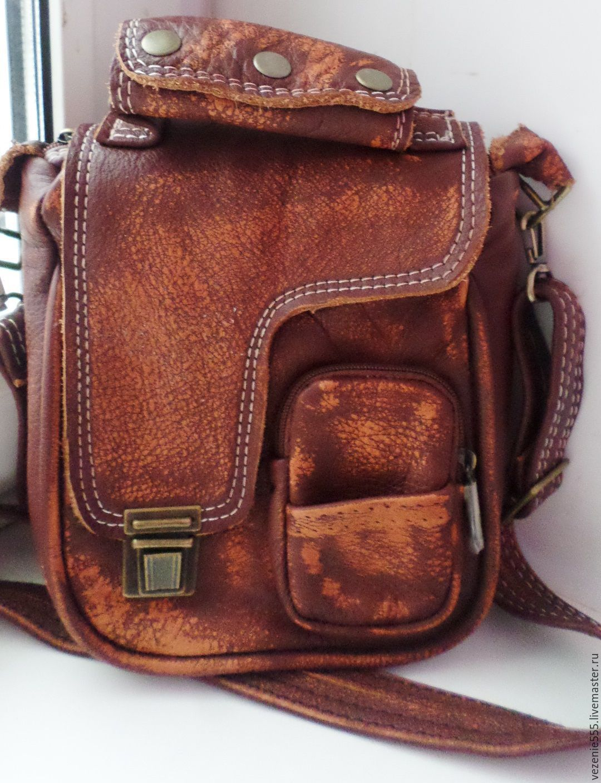 Мужская сумка из кожи - misterbagsru
