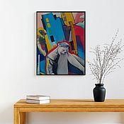 """Картины ручной работы. Ярмарка Мастеров - ручная работа Картина маслом """" Замріяність"""". Handmade."""