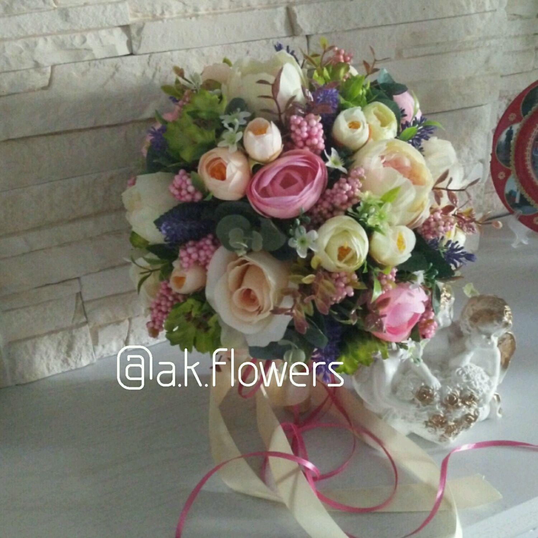 Роз лучший букет для невесты из искусственных цветов купить андропова магазин