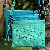 Сумки и аксессуары handmade. Livemaster - original item Clutch bag made of genuine leather. Handmade.