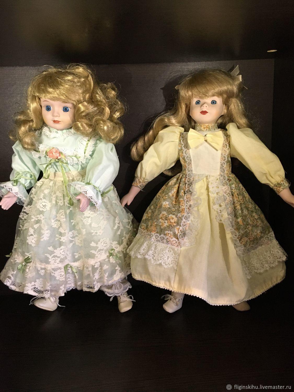 Винтаж: Винтажные фарфоровые куклы, Куклы винтажные, Краснодар,  Фото №1