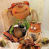 Куклы и игрушки ручной работы. Ярмарка Мастеров - ручная работа В гостях у бабушки!. Handmade.