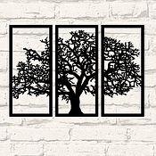 """Панно ручной работы. Ярмарка Мастеров - ручная работа Модульное панно """"Дерево жизни"""". Handmade."""