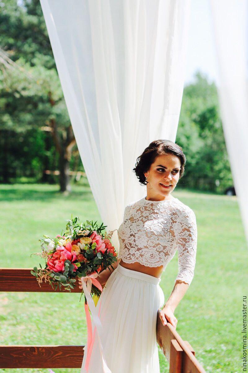 Wedding dress (top and skirt), Wedding dresses, Vologda,  Фото №1