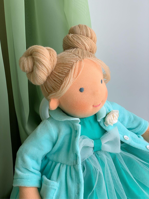 Саманта - вальдорфская куколка, Вальдорфские куклы и звери, Самара,  Фото №1