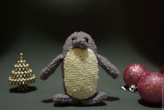 Игрушки животные, ручной работы. Ярмарка Мастеров - ручная работа. Купить Вязаная игрушка пингвин амигуруми. Handmade. Комбинированный, друзья