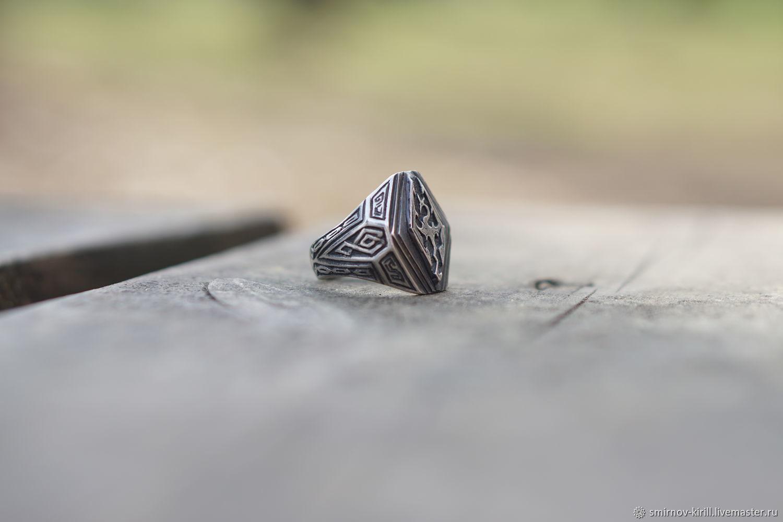 Кольца ручной работы. Ярмарка Мастеров - ручная работа. Купить Кольцо серебряное Дракон Skyrim. Handmade. Дракон, Кольцо женское