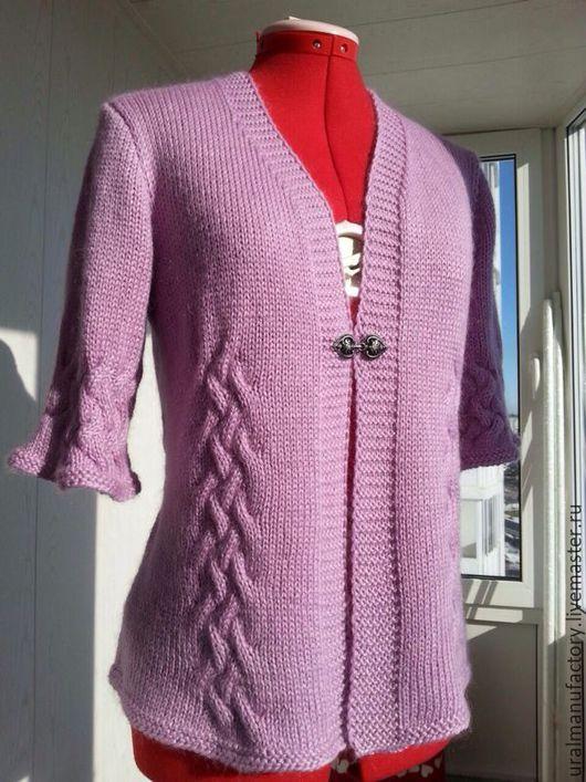Кофты и свитера ручной работы. Ярмарка Мастеров - ручная работа. Купить Кофточка-пиджак. Handmade. Кофта, пиджак, кардиган, застежка