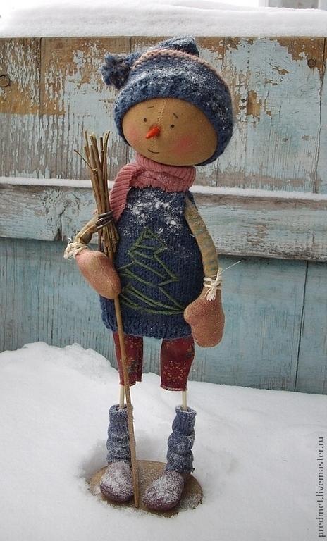 Новый год 2017 ручной работы. Ярмарка Мастеров - ручная работа. Купить Mandag (понедельник) - Новогодняя неделька. Handmade. Новый Год