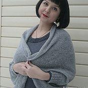 handmade. Livemaster - original item Cocoon cardigan Cape Bolero shawl one size. Handmade.