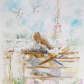 Картины и панно handmade. Livemaster - original item Your Paris. Handmade.