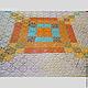 Текстиль, ковры ручной работы. Ажурное вязаное покрывало. Вязание  Лоскутное шитье Пэчворк (Svetlana-Svet). Ярмарка Мастеров.