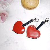 Сумки и аксессуары handmade. Livemaster - original item keychain: Heart. Handmade.