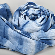 Scarves handmade. Livemaster - original item Linen tippet