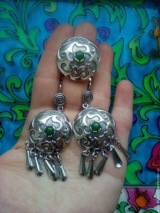 Комплекты украшений ручной работы. Ярмарка Мастеров - ручная работа. Купить 224 Комплект серебрение серьги и кольцо с камнями. Handmade.