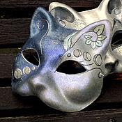 """Одежда ручной работы. Ярмарка Мастеров - ручная работа Карнавальная маска """"Лунный кот"""". Handmade."""