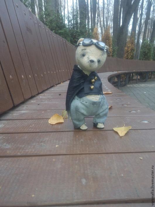 Мишки Тедди ручной работы. Ярмарка Мастеров - ручная работа. Купить Рома. Handmade. Бежевый, мишка, глаза стеклянные