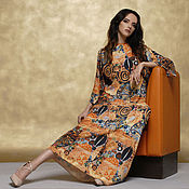 Одежда handmade. Livemaster - original item Dress long print