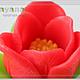 """Мыло ручной работы. Мыло """"Аленький цветочек"""". Milayana. Интернет-магазин Ярмарка Мастеров. Мыло цветочное, тюльпан"""