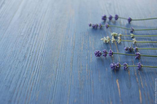 Аксессуары для фотосессий ручной работы. Ярмарка Мастеров - ручная работа. Купить Деревянный фотофон лавандовый и голубой. Handmade. Синий, краска