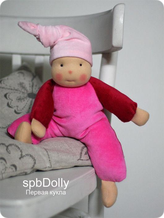 Вальдорфская игрушка ручной работы. Ярмарка Мастеров - ручная работа. Купить Любимая - кукла мягкая ручной работы. Handmade. Комбинированный