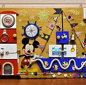 Куклы и игрушки handmade. Livemaster - original item Basebord Educational Board for children