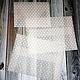 Подарочная упаковка ручной работы. Ярмарка Мастеров - ручная работа. Купить Конверты из кальки снежные. Handmade. Белый, 2, золотой