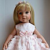 """Куклы и игрушки ручной работы. Ярмарка Мастеров - ручная работа Платье """"Яблоневый цвет"""". Handmade."""