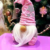 Мягкие игрушки ручной работы. Ярмарка Мастеров - ручная работа Новогодний гном. Handmade.