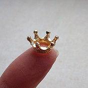 Бусины ручной работы. Ярмарка Мастеров - ручная работа Корона для мини-принцесс и мини-звериков. Handmade.