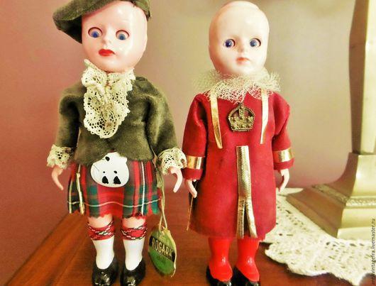 Винтажные куклы и игрушки. Ярмарка Мастеров - ручная работа. Купить Старинные антикварные куклы английской марки Rogark 30-40 годы. Handmade.