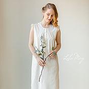 Combination handmade. Livemaster - original item Nightgown with wings vanilla. Handmade.