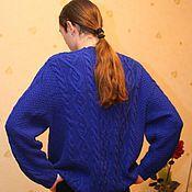 Одежда ручной работы. Ярмарка Мастеров - ручная работа Глубокий синий. Handmade.