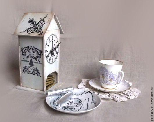 """Кухня ручной работы. Ярмарка Мастеров - ручная работа. Купить Чайный домик """"Французский салон"""". Handmade. Чайный домик, сладости"""
