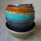 Посуда ручной работы. Ярмарка Мастеров - ручная работа Керамические пиалы ручной работы. Handmade.